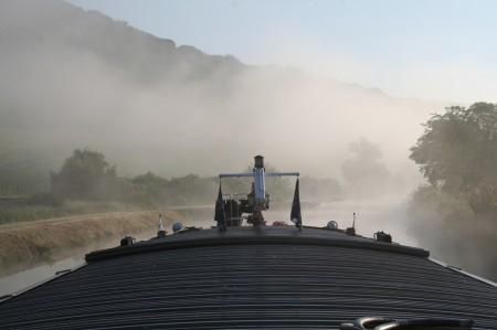 matin sur le canal des ardennes