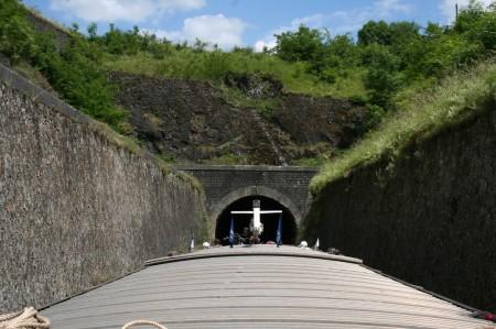 tunnel près de givet