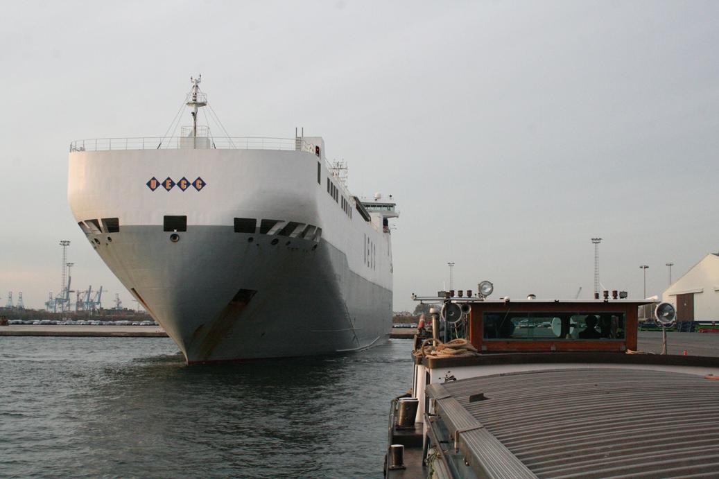 Le port de zeebrugges kairos peniche for Kairos peniche