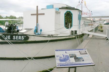 bateau chapelle