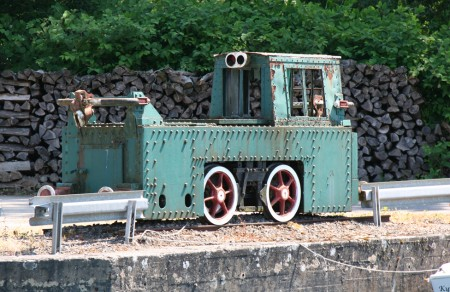 tracteur de halage