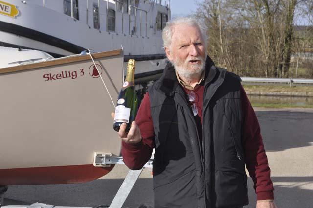 "inauguration de notre voilier skellig 3 ""kronos"""