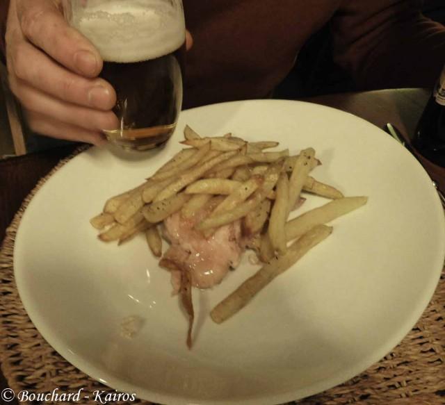 Pot'je vleesch/frites