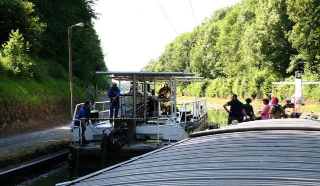 Toueur, canal de st Quentin