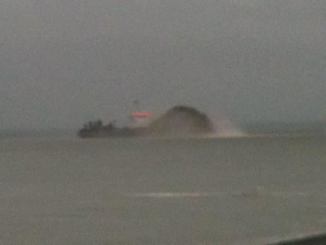 cargo propulsant du sable