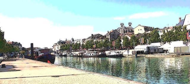 Port de plaisance a Verdun