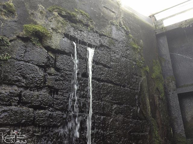fuite écluse canal du centre
