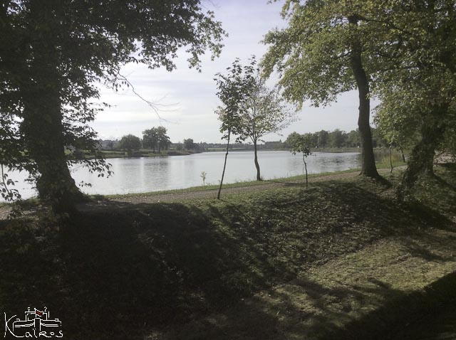 Lac de réserve au partage des eaux Montchanin