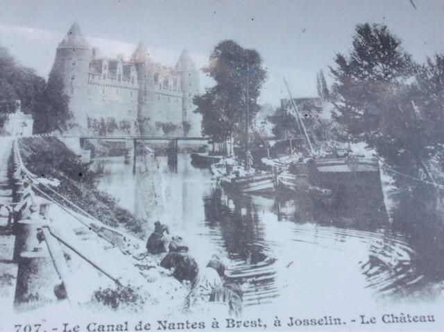 Canal a Josselin