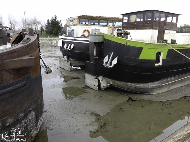 bateaux à sec