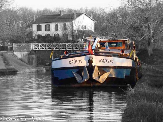 Le froid arrive sur le canal for Kairos peniche