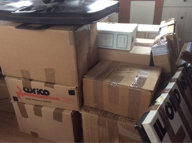 Transports de paquets peniche Kairos