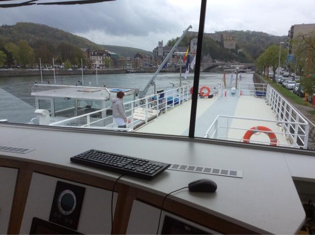 bateau ville de Liège à Huy