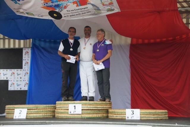 Martial champion de France de tir à l'arc