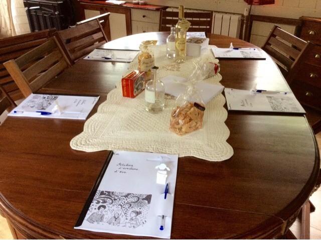 Atelier d'écriture peniche kaïros