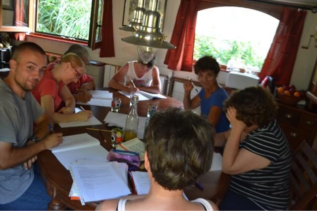 Atelier d'écriture peniche Kairos