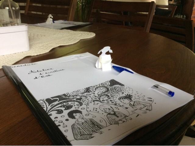 Atelier écriture peniche Kaïros