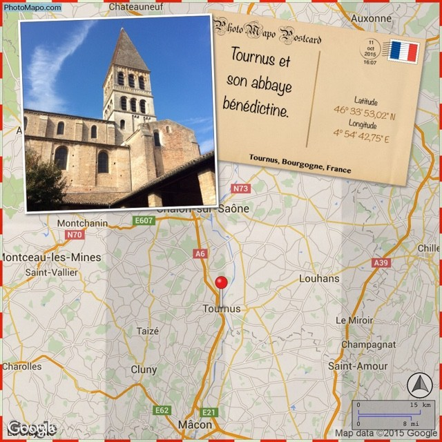 Tournus et son abbaye b?n?dictine.