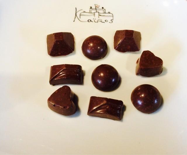 Chocolats maison Peniche Kaïros