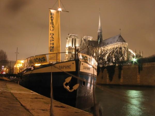 bateau Daphne Paris