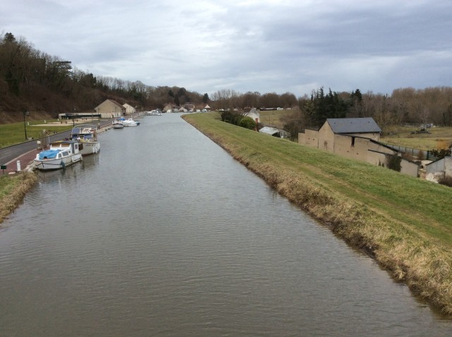 Canal latéral Châtillon peniche kairos