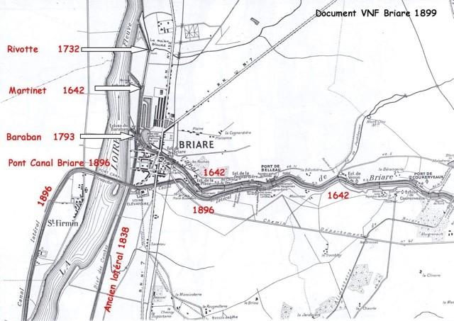 Ecluses De Loire à Briare