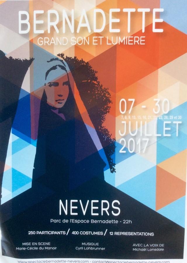 Son et lumière Nevers, juillet 2017